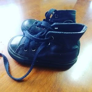 Converse All star high top toddler size 5